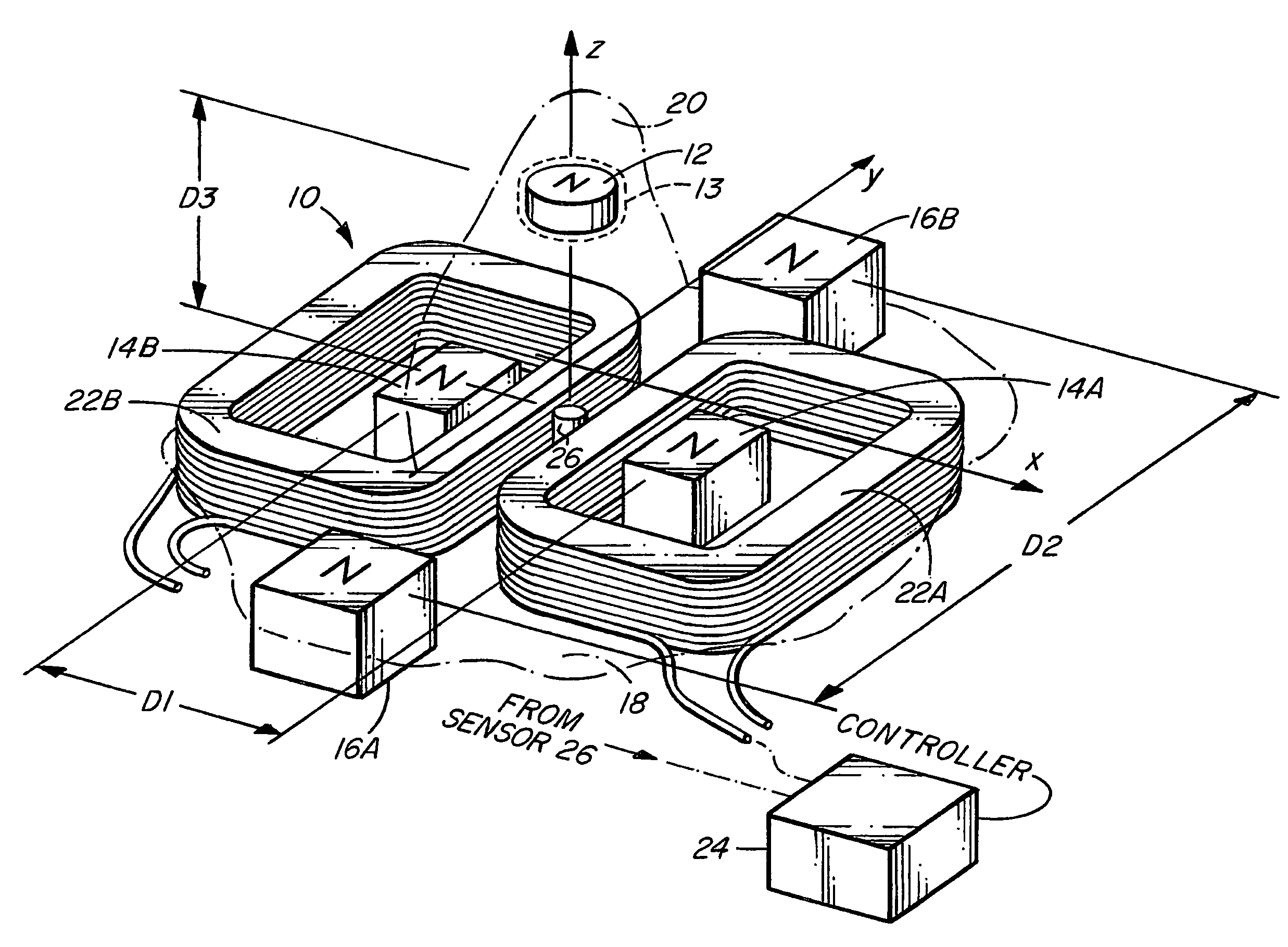 2474x1819 Patent Us20140265690 Magnetic Levitation Of A Stationary