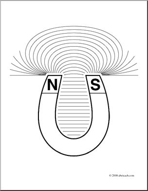 magnets coloring pages - photo#8