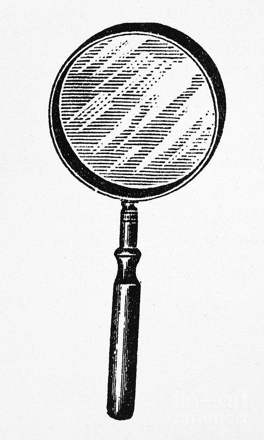 540x900 Magnifying Glass Photograph By Granger
