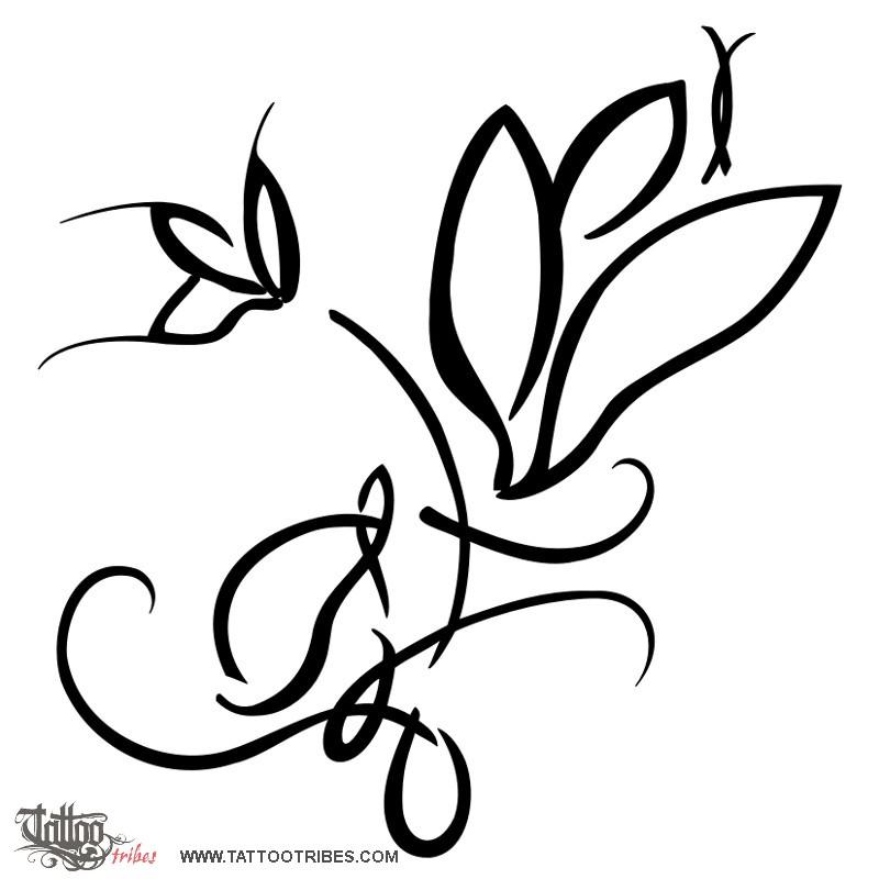 800x800 Tattoo Of Magnolia, Sweetness, Beauty Tattoo
