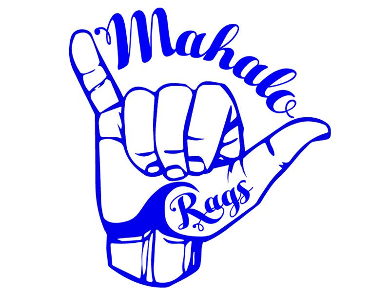 800x600 Mahalo Rags Clothing Line Logo By Blake Andujar