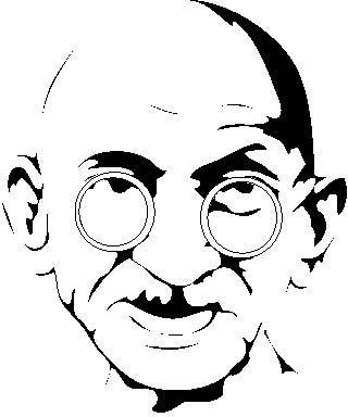 320x384 Mahatma Gandhi Free Vector Download (4 Free Vector) For Commercial