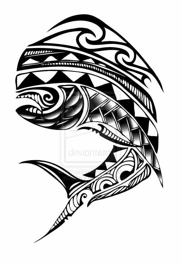 600x880 Tribal Mahi Tattoo Ideas Tattoo And Tatting