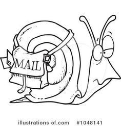 236x247 Drawing Snails On The Snailmail Magazine Orders ) Happy Mail
