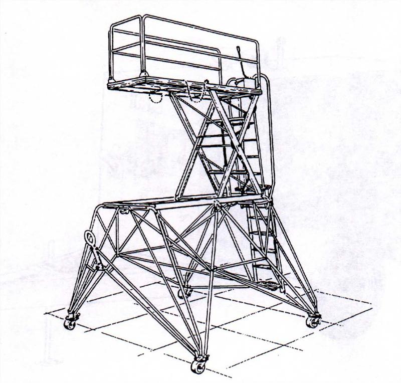 800x764 B 5 Maintenance Platform 7' 12'