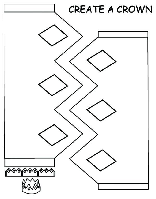 600x763 Great Make Your Own Coloring Page Online Create Crown Pages