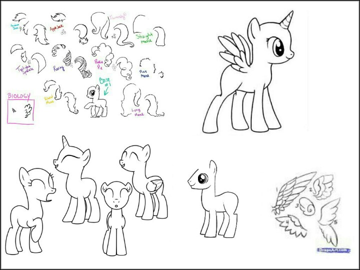 720x540 Here Are Some Helps To Create Your Own Oc. Drawing Helps