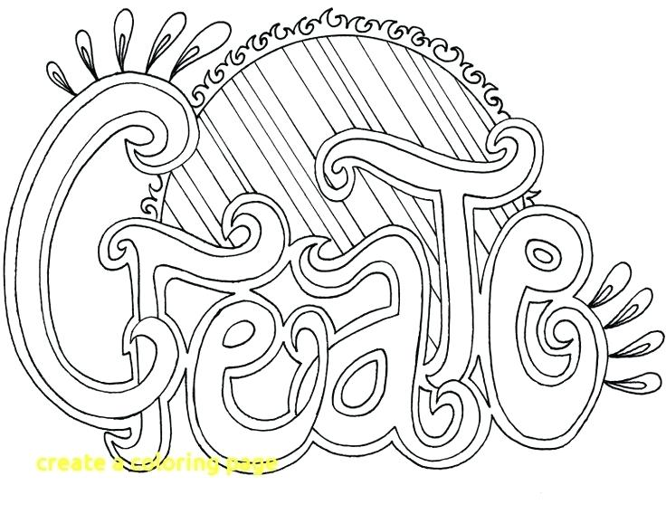 736x568 Lovely Create Coloring Pages Crayola Photo A Page With Your Own