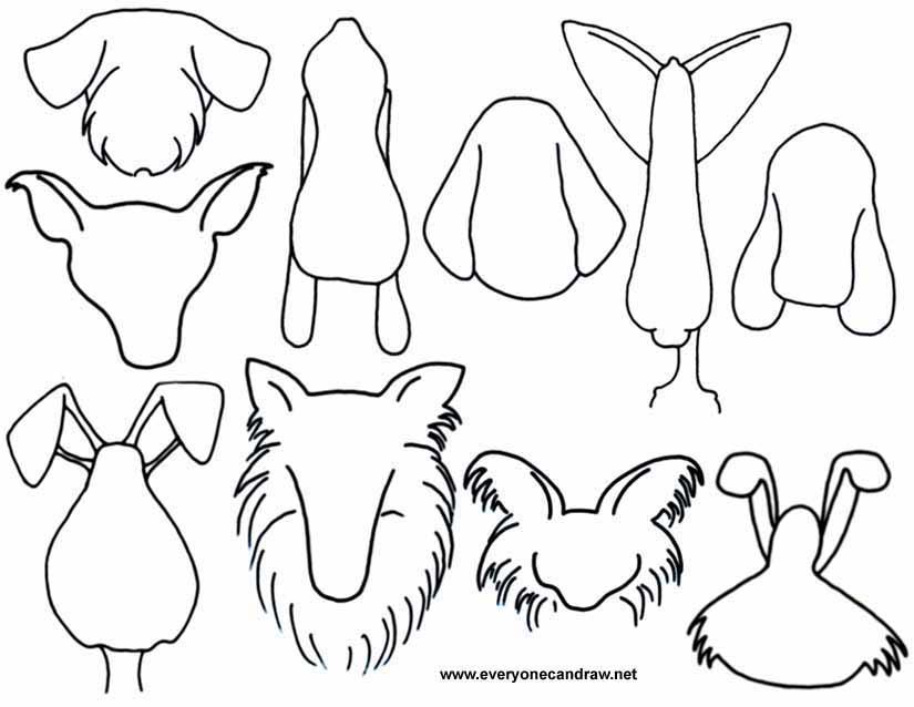 825x638 Cartoon Animals