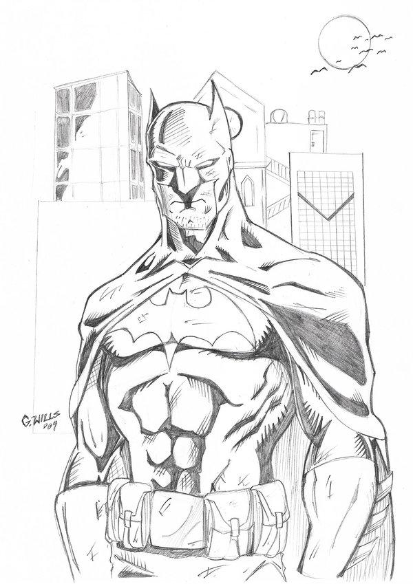600x849 Batman Sketch 3 11 By Glwills1126