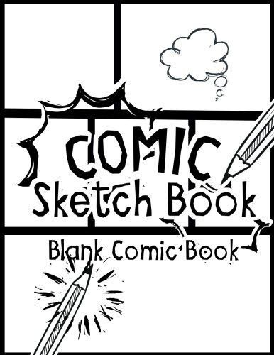 386x500 Comic Sketch Book