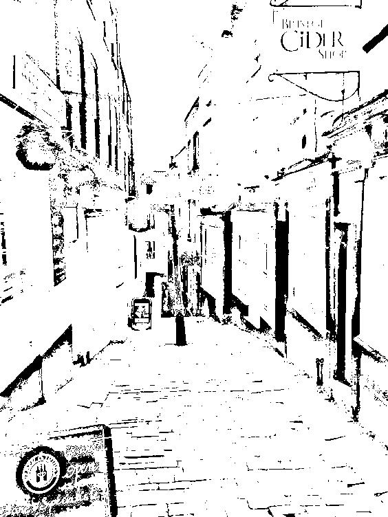 564x752 Free Picture Stencil Maker Scenery Sketches
