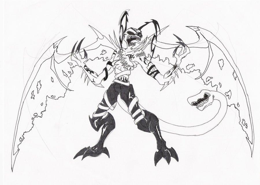 900x641 Inner Demons Kage Concept By Mech Maker