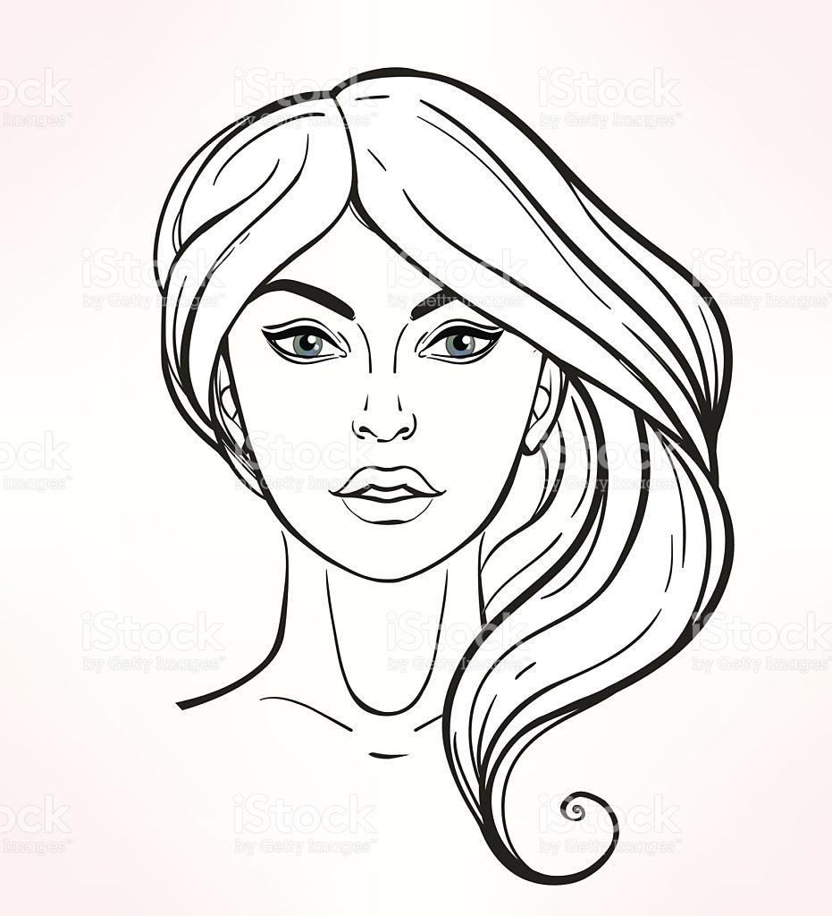 Makeup Art Drawing at GetDrawings | Free download