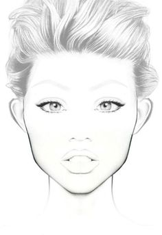 236x343 Image Result For Makeup Face Charts Makeup Charts