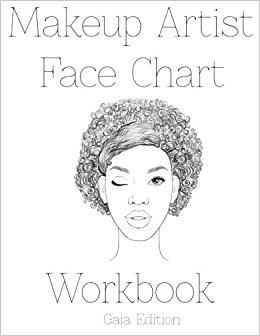 260x336 Makeup Artist Face Chart Workbook Gaia Edtion Sarie Smith