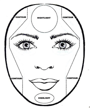 300x364 Makeup Artist Trick Work With Your Face Shape To Make The Most