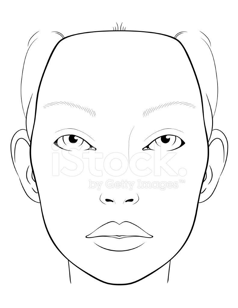 791x1024 Blank Face Charts For Makeup Artists Becoming A Makeup Artist