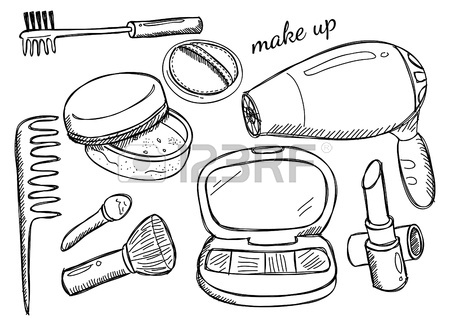 450x326 Makeup Kit Royalty Free Cliparts, Vectors, And Stock Illustration