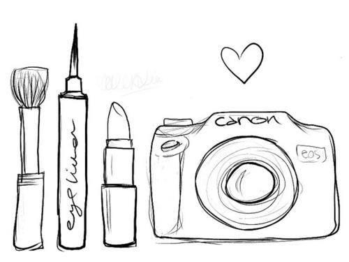 makeup brushes drawing at getdrawings com