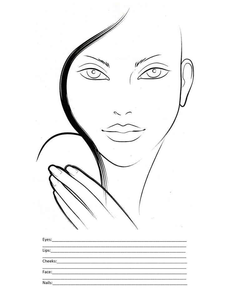 736x952 Face Chart Makeup Face Charts And Make Up