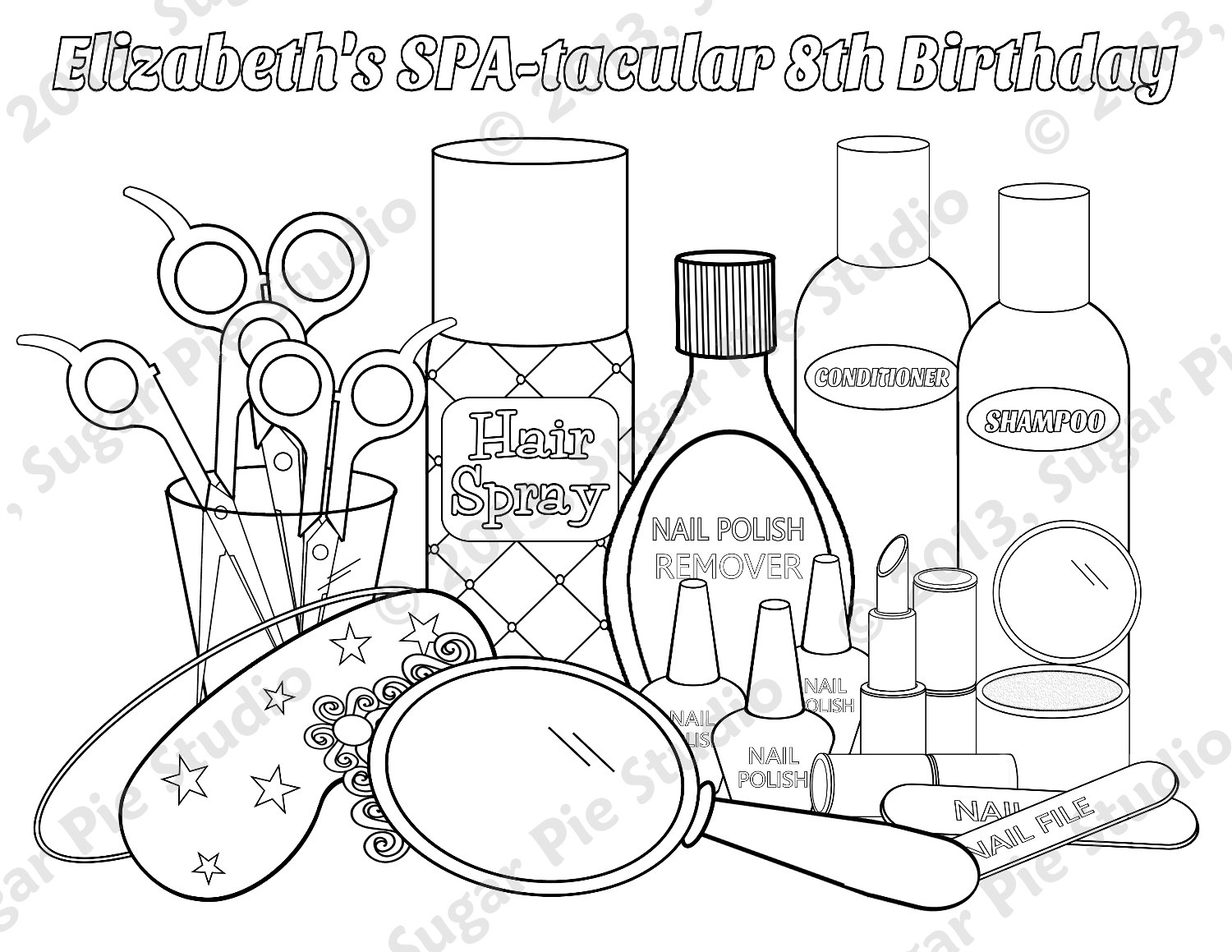 1500x1159 Makeup Coloring Pages To Download And Print For Free