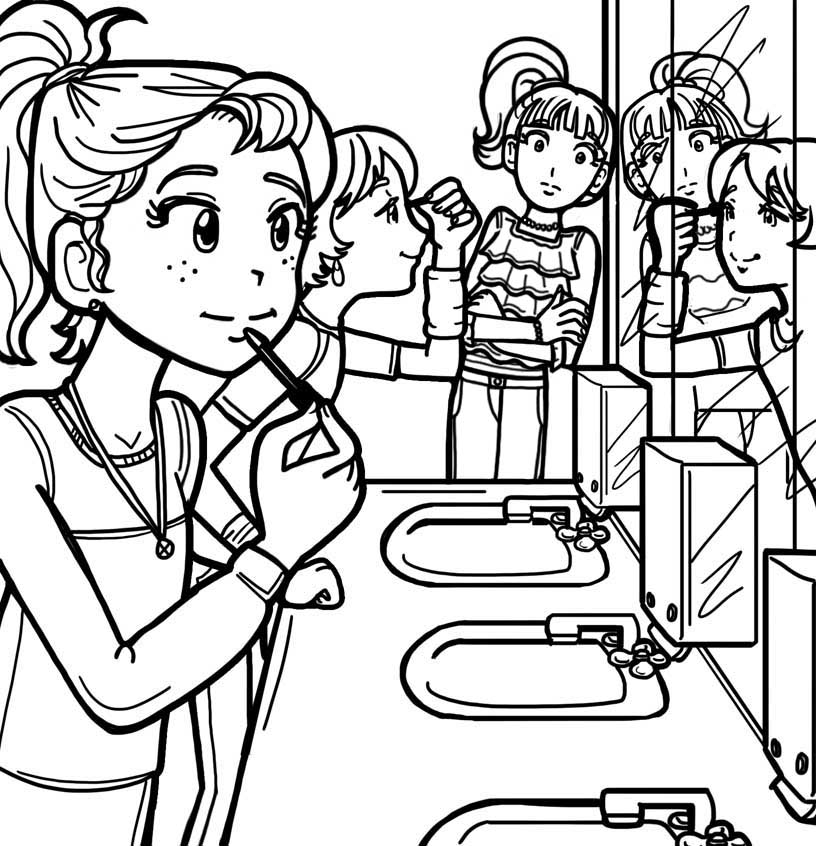 816x846 When Your Friends Wear Makeup And You Don'T Want To Dork Diaries