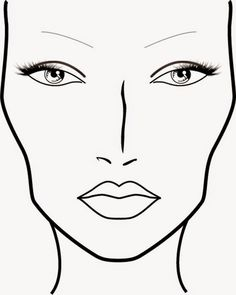 236x295 Blank Eye Makeup Face Chart Beauty Makeup On Only