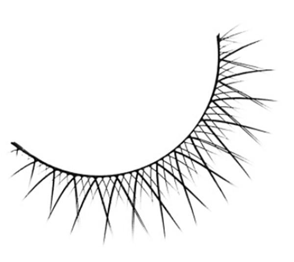 600x534 Eyelashes Original Marlliss 803 Crisscross False Eye Lashes Fake