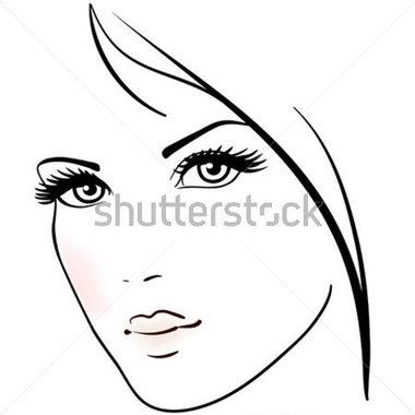 380x380 Makeup Face Clip Art