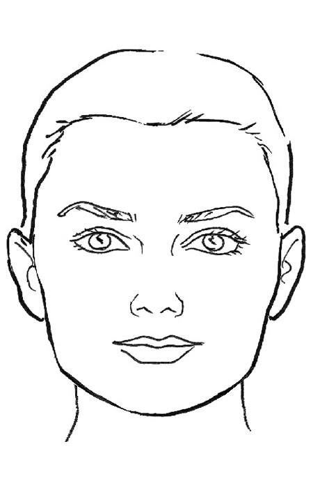 450x690 What Face Shape Are You Makeup With Ashley