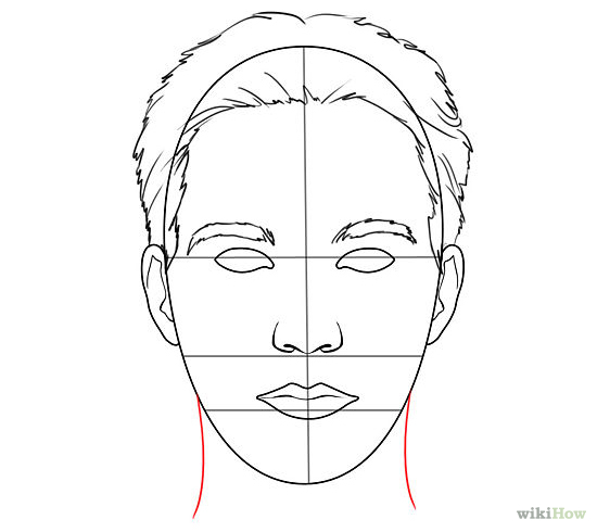 550x490 Drawn Templates Drawing Templates Faces