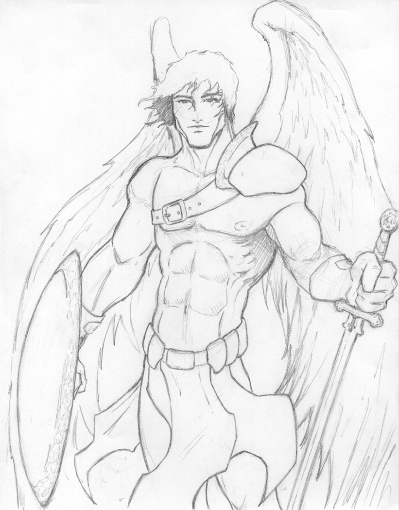 821x1050 Male Guardian Angels Guardian Angel By Pigbert Angels
