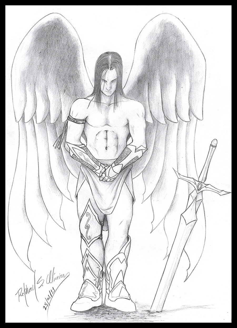 900x1247 My Guardian Angel By Rraphall04