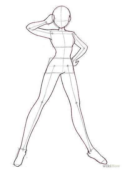 395x549 Drawing Male Anime Figure