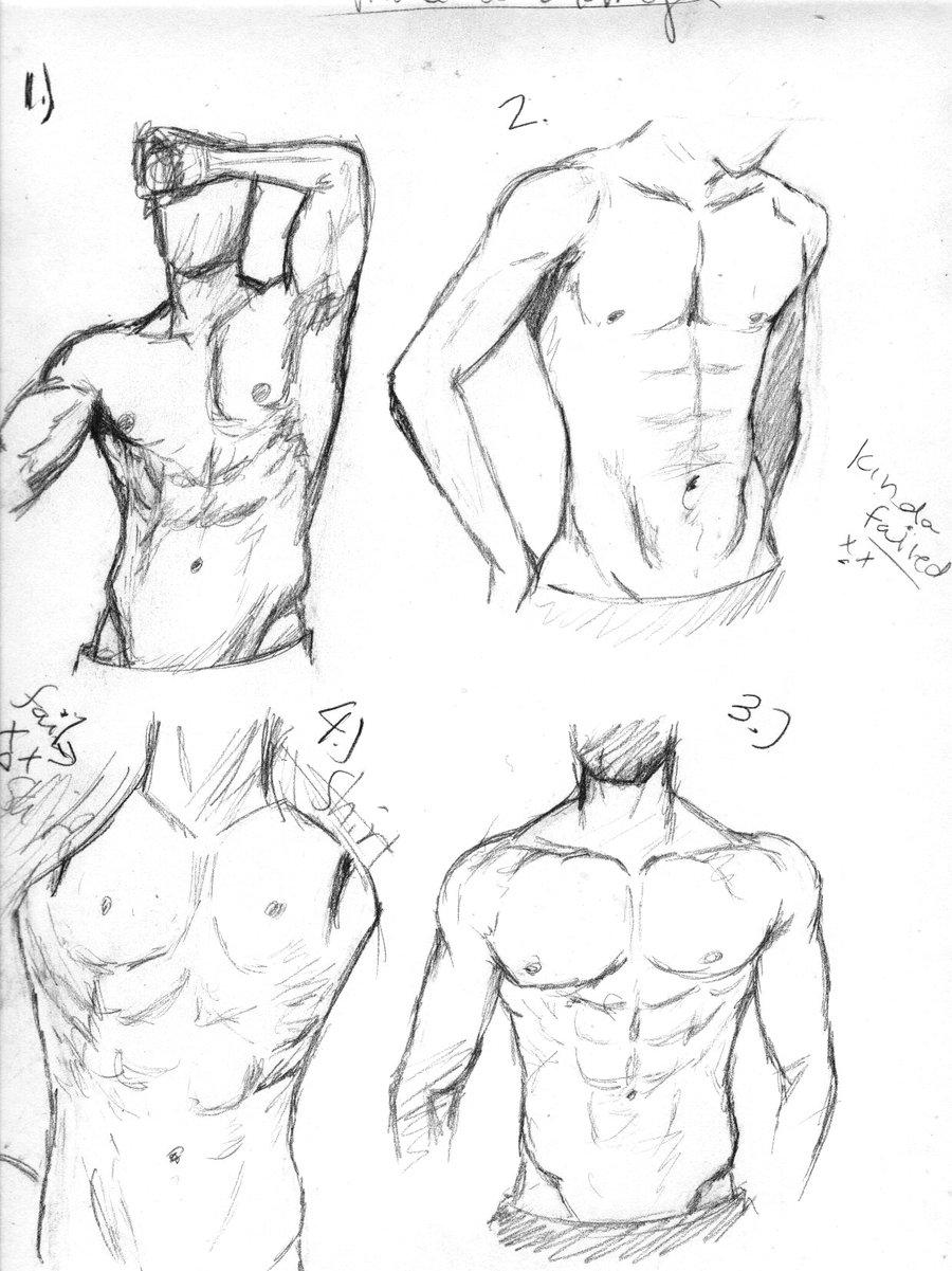 900x1201 Drawing Studies Male 1 By Melodicomenofangels
