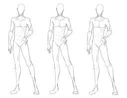 255x197 Image Result For Costume Design Body Outline Male Drawings