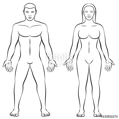 500x500 Man And Woman