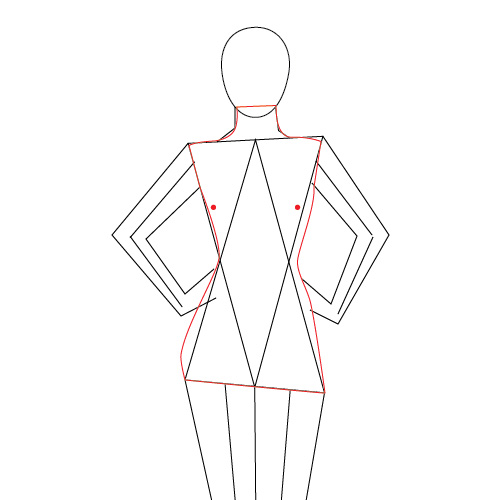 500x500 Modeling The Human Body In Adobe Illustrator