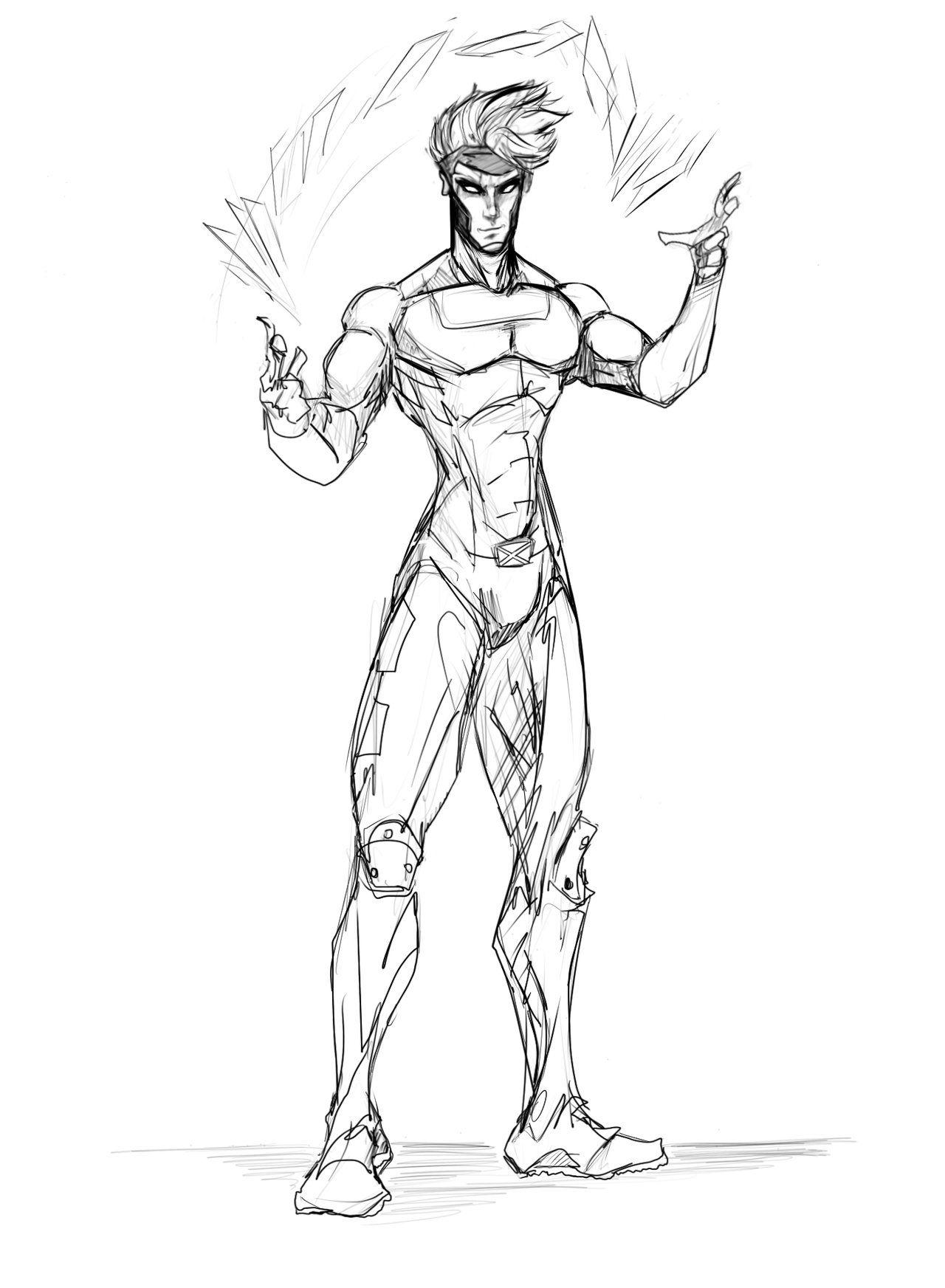 1280x1745 Gambit Redo By Sketchydeez Sketchydeez(Character Art
