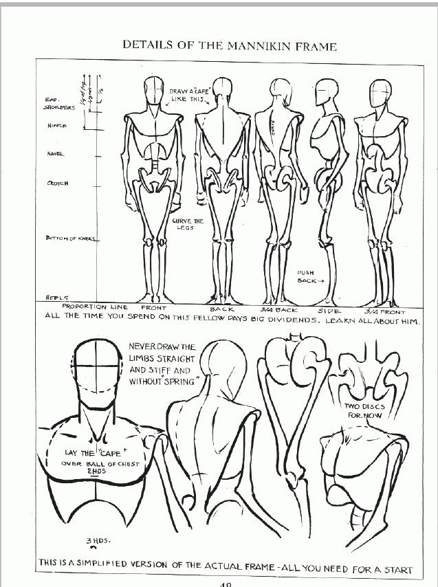 637x854 Male Figure Drawing Natasha Crowley
