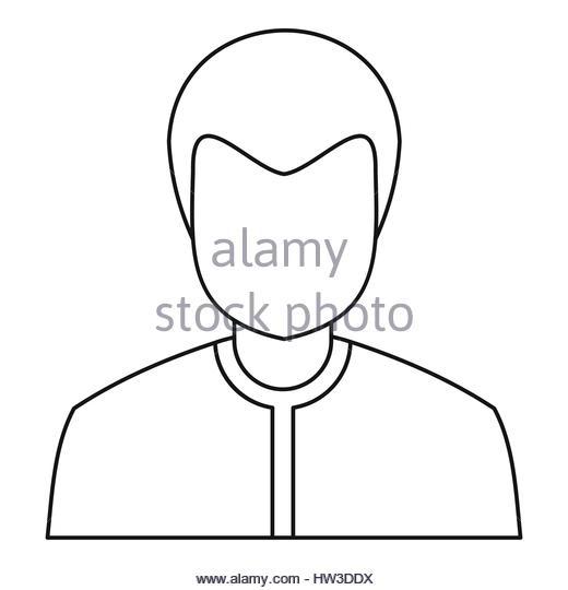 520x540 Head Boy Male Outline Vector Stock Photos Amp Head Boy Male Outline