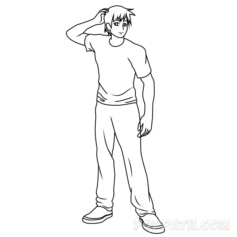 804x804 How To Draw A Man Pop Path