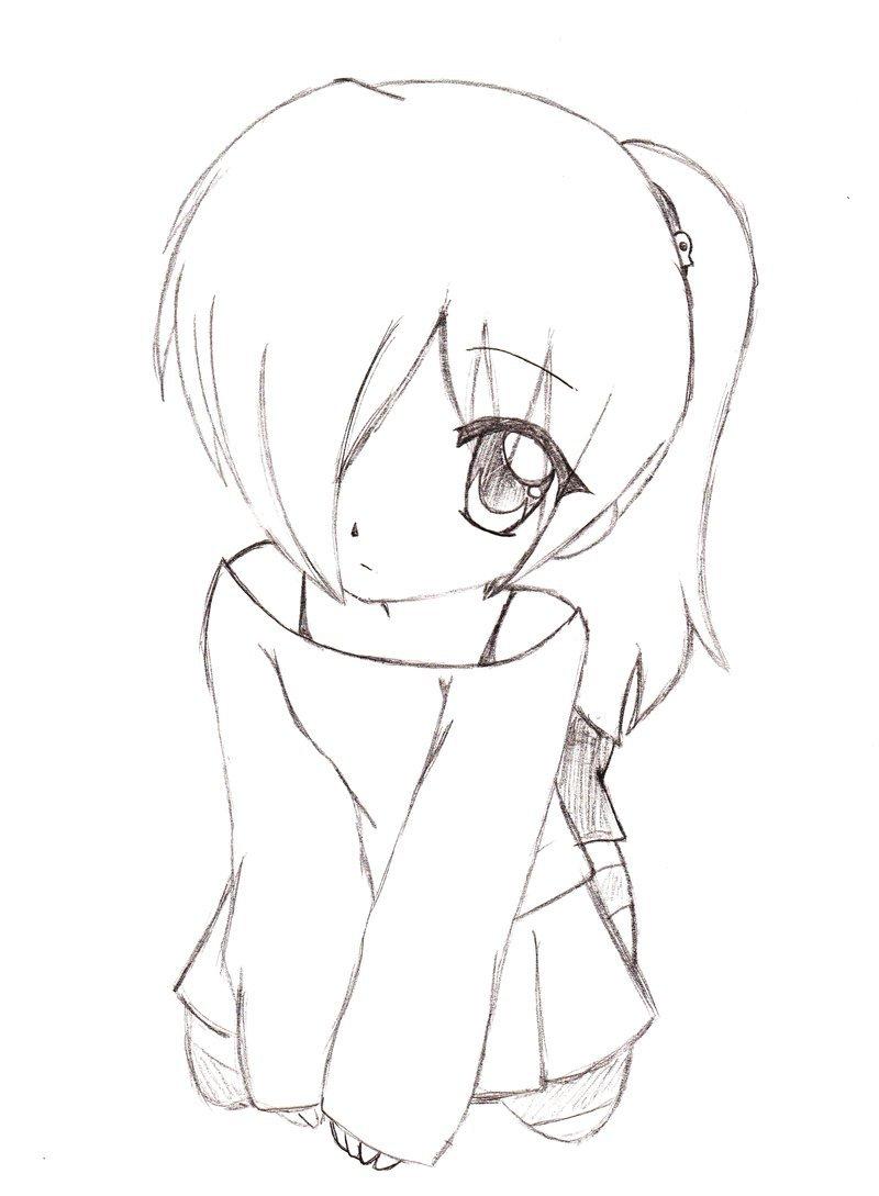 800x1089 Anime Outline Drawing How To Draw Anime Manga Male Head