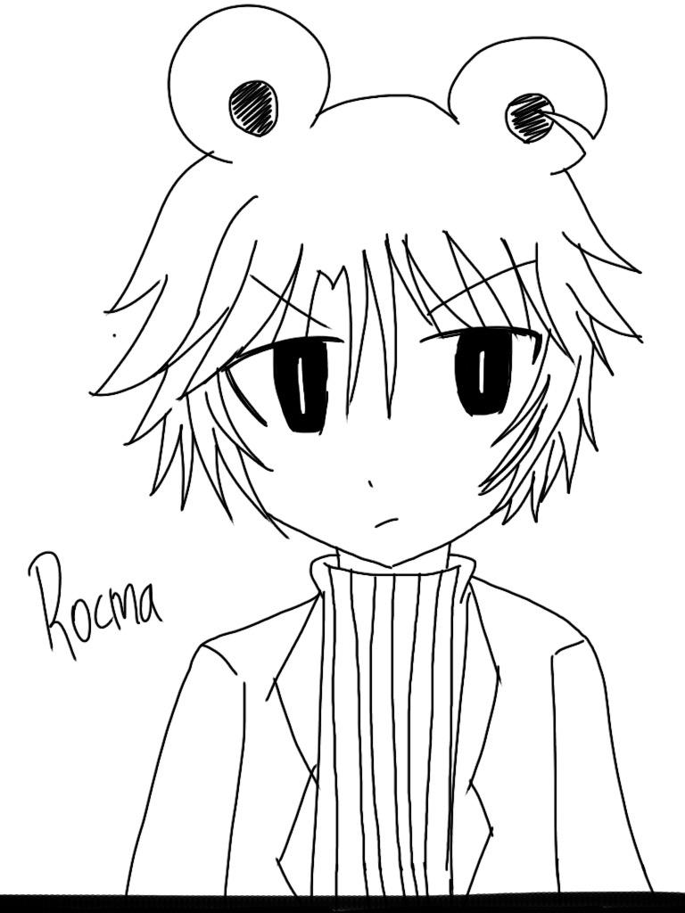 768x1024 Male! Rocma (Ice Scream) By Aokamineechan