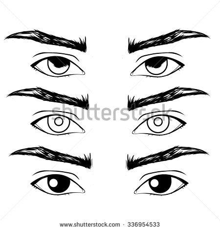 450x470 Drawn Men Eye