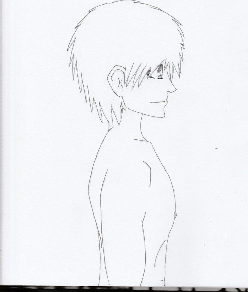 824x970 Shirtless Guy (Profile Side View) By Brockollijeffarez