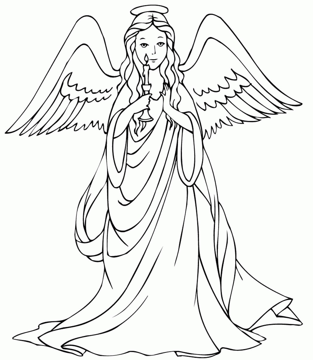 1050x1207 Free Coloring Pages Guardian Angels Copy Male Guardian Angel