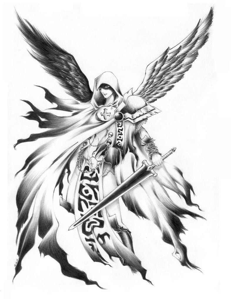 786x1016 Guardian Angel By Arilynazure