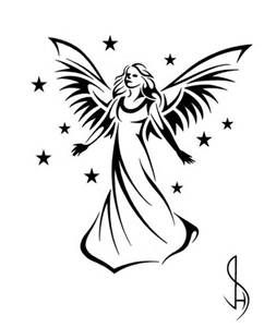 253x300 Image Result For Guardian Angel Silhouette Wood Burning